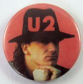 U2 - 'Bono' 32mm Badge